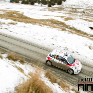 Expect the unexpected is the rule of rallying but no-one expected there to be six inches of snow on 'Pikes Peak'.